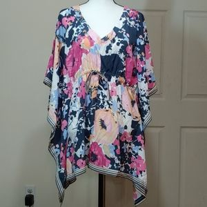 NWT New York & Co. Caftan Blouse - Size L